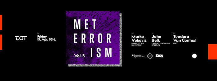 Meterrorism John Belk Marko Vukovic Teodora Van Context Dot