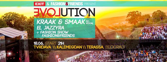 Kraak & Smaak Evolution Exit Terassa Lounge Kalemegdan