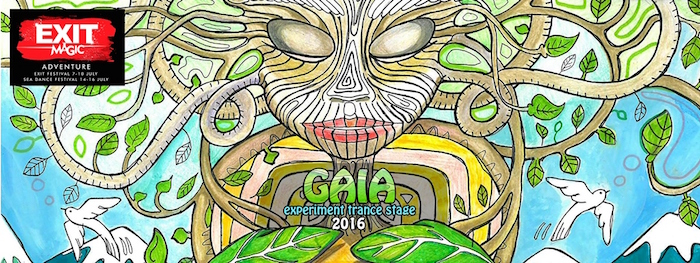Gaia Experiment Trance Stage EXIT 2016