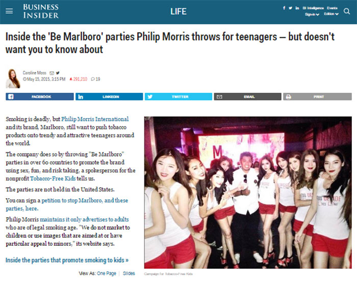 Marlboro Philip Morris zurke