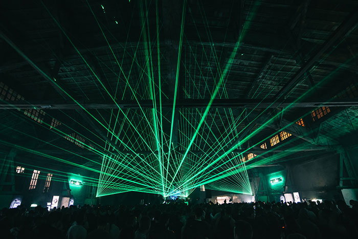 Omnia Serbia Wonderland festival Laser Show recenzija review