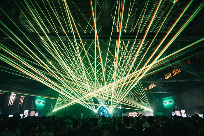 Serbia Wonderland festival Omnia Laser Show review recenzija