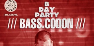 BASS.CODON B Day Party Rebel B Bom Ziggy KPTM