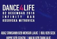 Infinity bar Dance4Life Azri Eleskovic Kosovska Mitrovica