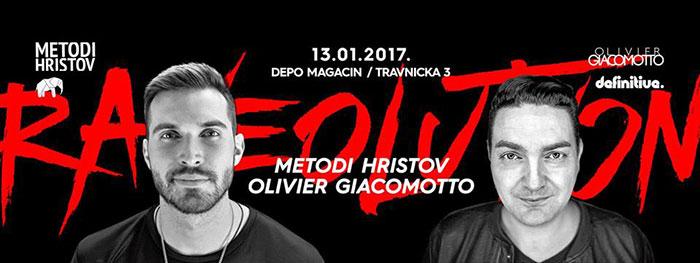 Metodi Hristov Olivier Giacomotto Raveolution Srpska nova godina Magacin Depo