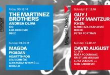 Central Dance Event CDE 2017 Line Up karte