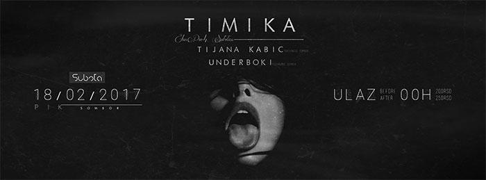 Timika UnderBok Tijana Kabic Pik Sombor