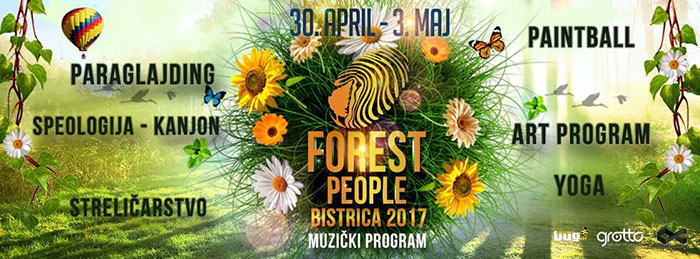 The Forest People festival Crna Gora Bistrica