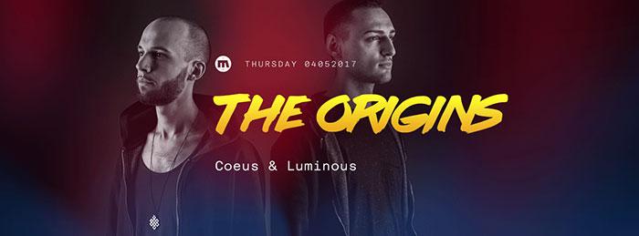 The Origins Coeus Luminous Disko Bar Mladost