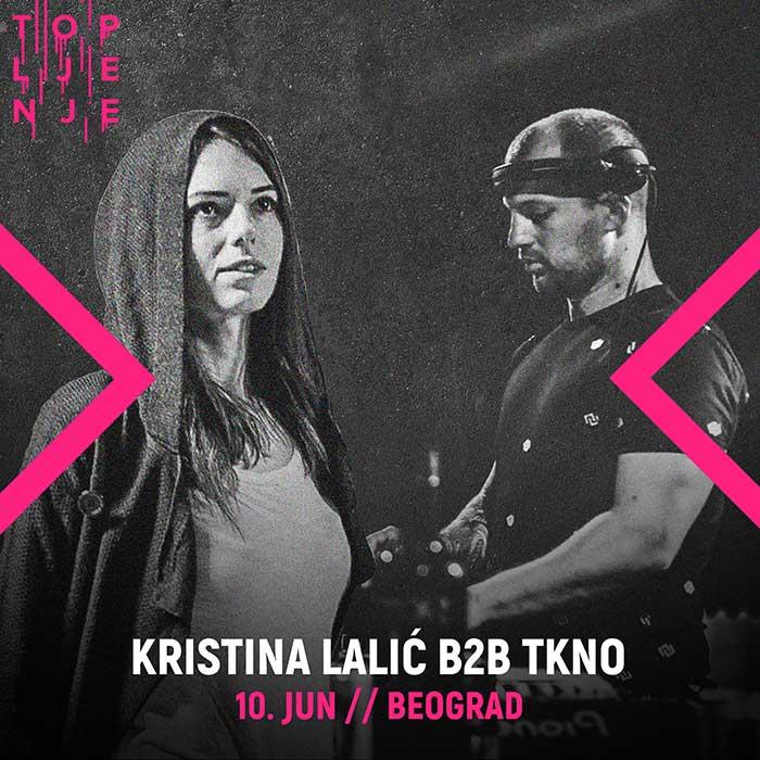 Topljenje festival Kristina Lalic TKNO
