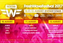 Energy Stage Nektar FreshWave festival 2017