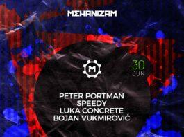 Peter Portman Speedy Concrete DJz Mehanizam