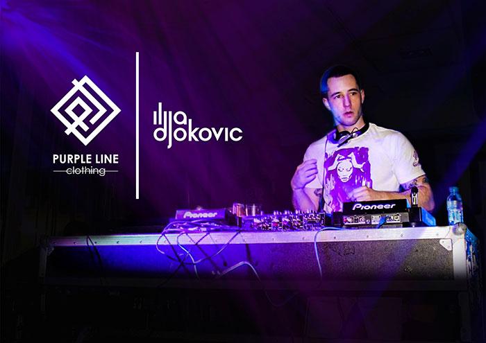 Ilija Djokovic Purple Line Clothing