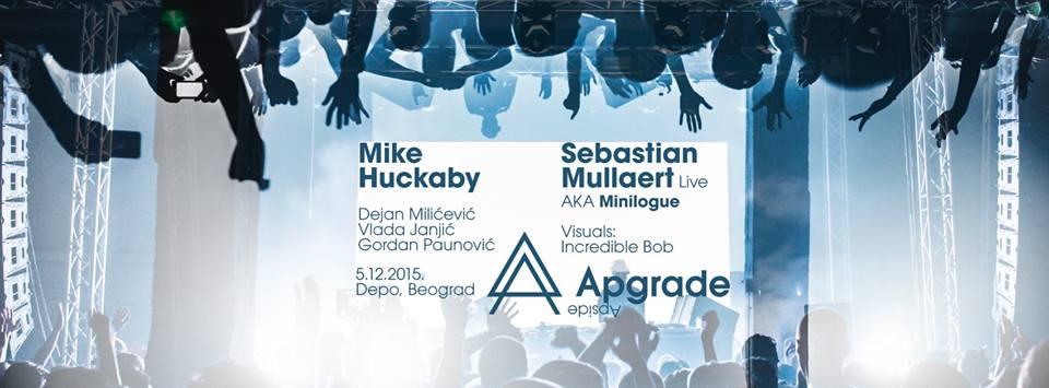 Mike Huckaby & Sebastian Mullaert a.k.a. Minilogue @ Apgrade