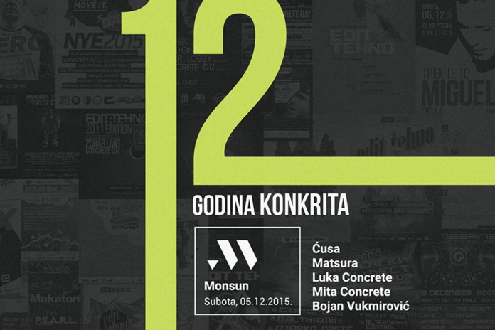 12 godina Konkrita @ Monsun Featured