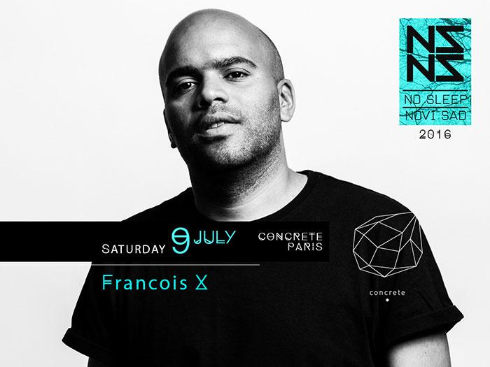 Francois X Exit festival 2016