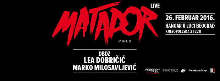 Matador Live Beograd