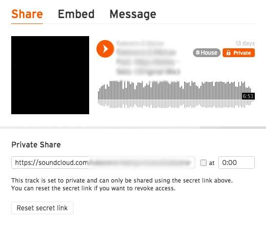 SoundCloud Demo