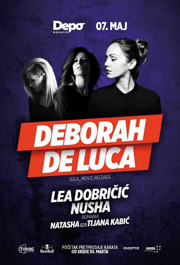 Deborah de Luca Nusha Lea Dobricic Magacin Depo