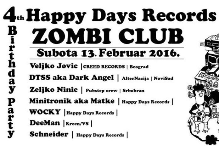 Happy Days Records Zombi