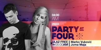 Party At Four Marko Vukovic Joma Maja KPTM