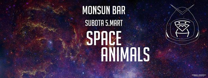 Space Animals Monsun Bar