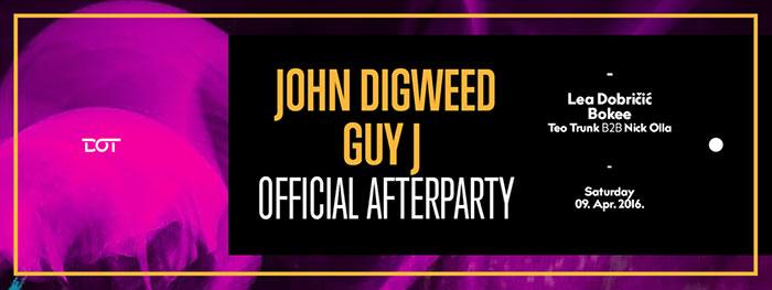 John Digweed Guy J Afterparty Dot