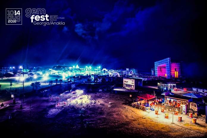 GEM festival Gruzija