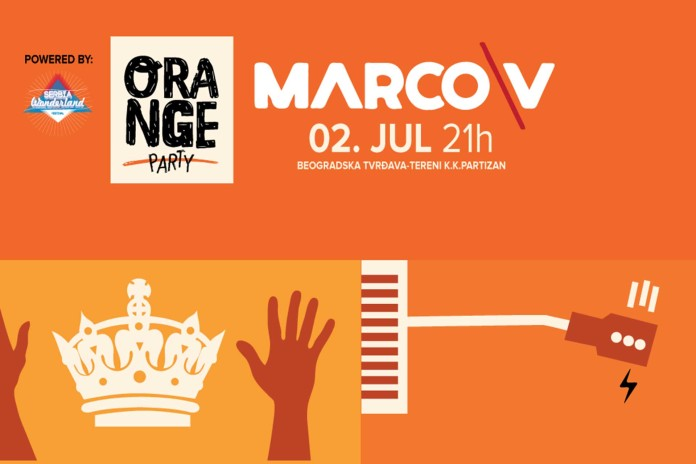 Marco V Orange Party Serbia Wonderland festival