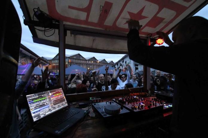 Party at four KPTM Concrete DJz Bojan Vukmirovic Luka Concrete Open Air