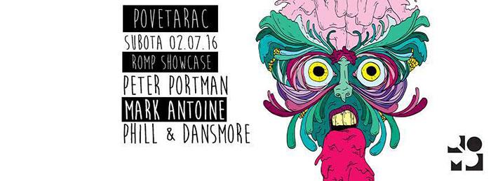 ROMP Showcase Peter Portman Manton Phill & Dansmore Povetarac