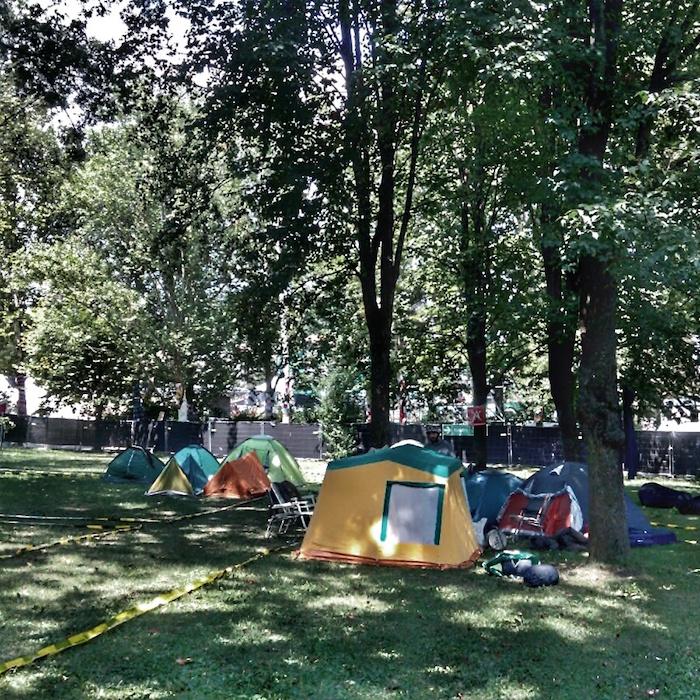 Prvi kamperi su stigli u Lovefest kamp