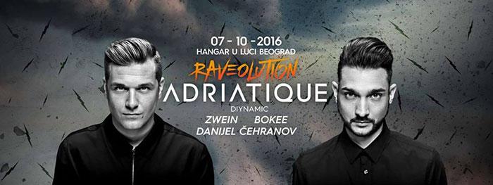Adratique Raveolution Zwein Danijel Cehranov Bokee Hangar Luka Beograd