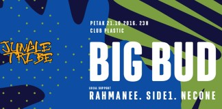 Big Bud Rahmanee Side1 Necone Plastic Jungle Tribe