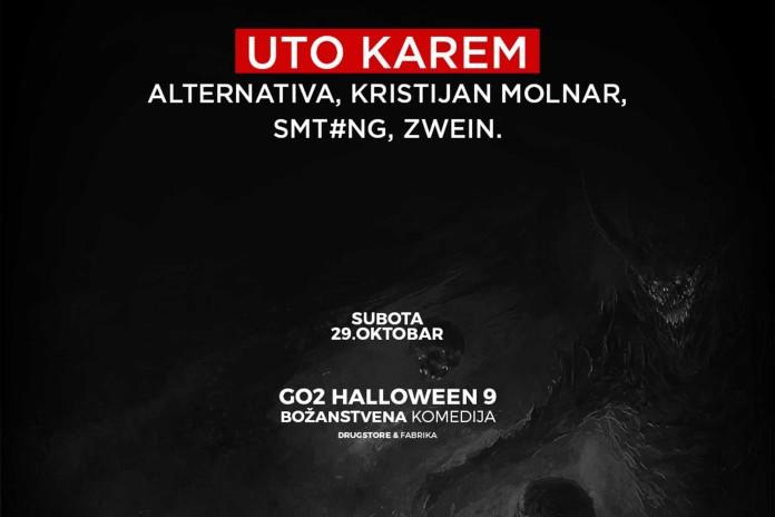 Go2 Halloween maskenbal Uto Karem Pakao stage izvodjaci Drugstore