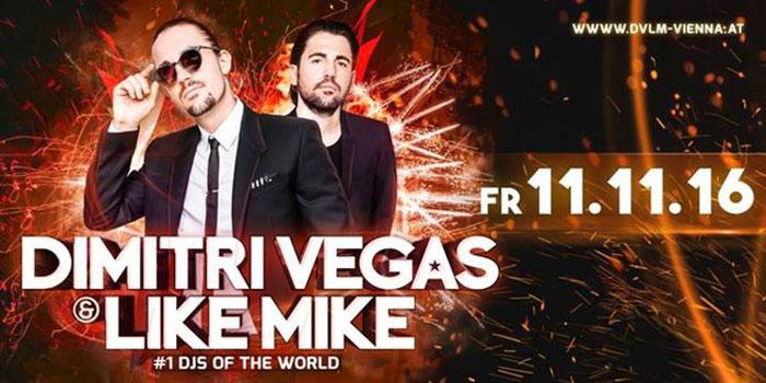 Wiener Stadthalle Dimitri Vegas & Like Mike