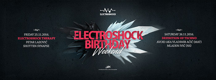Avoid Electroshock Weekend Umetnicki kutak