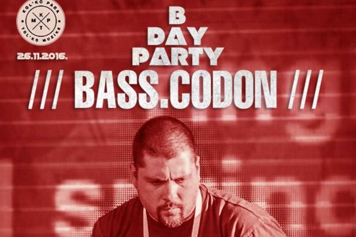 BASS.CODON B Day Party Rebel B Bom Ziggy KPTM