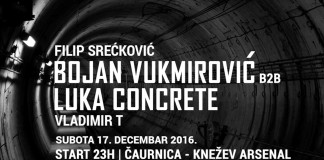 RUHR Concrete DJz Bojan Vukmirovic Luka Concrete Vladimir T Filipa Sreckovic Knezev arsenal Caurnica