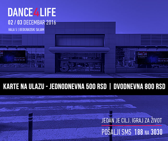Dance4Life karte