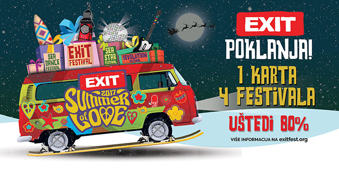 Exit festival karte poklon