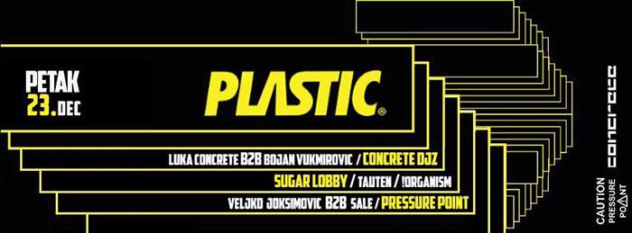 Sugar Lobby Concrete DJz Pressure Point Plastic