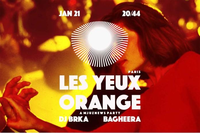 Les Yeux Orange Bagheera DJ Brka 2044