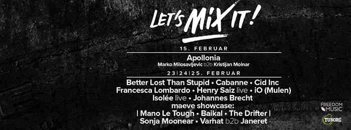 Let's Mix It festival Better Lost Than Stupid Cid Inc Henry Saiz