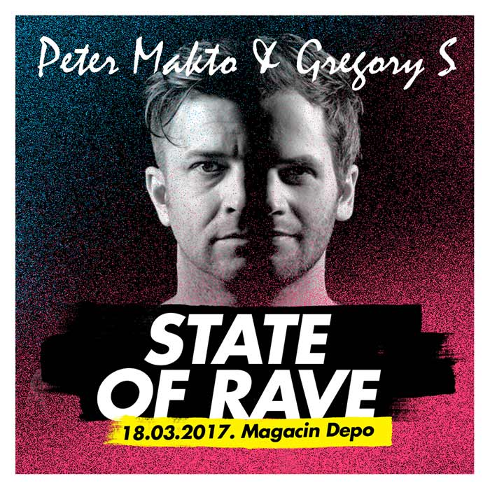 Peter Makto & Gregory S STATE of RAVE Magacin Depo