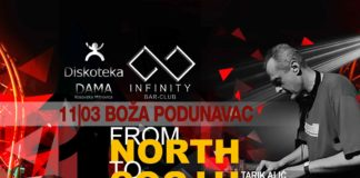 From North to South INFINITY Boža Podunavac Crna dama