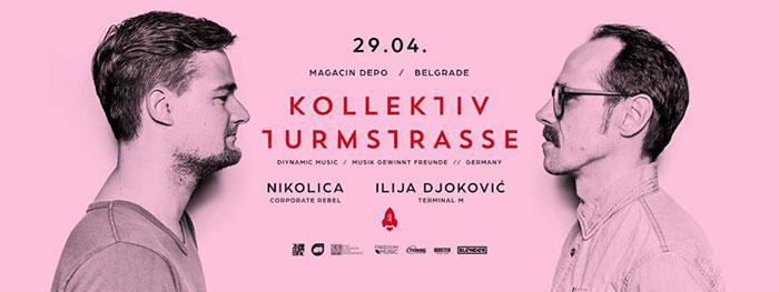 Kollektiv Turmstrasse Nikolica Ilija Djokovic Blender Magacin Depo
