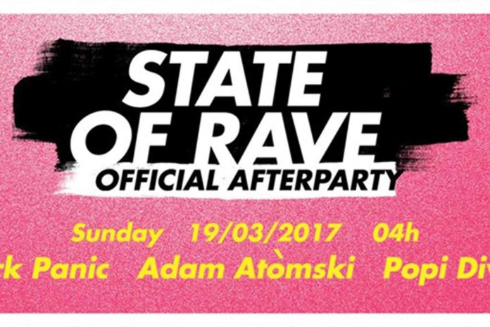 STATE of RAVE After Party Belgrade Afterhours Mark Panic Popi Divine Vanyano Adam Atomski Ben Akiba