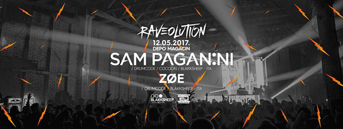 Sam Paganini Zoe Raveolution Magacin Depo