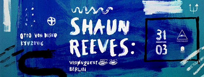 Shaun Reeves Kyuzovic Otto von Disko Club Tunnel